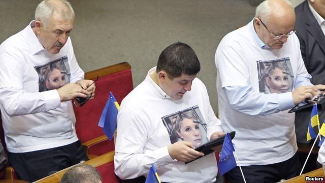 Питання Тимошенко востаннє відклали на тиждень