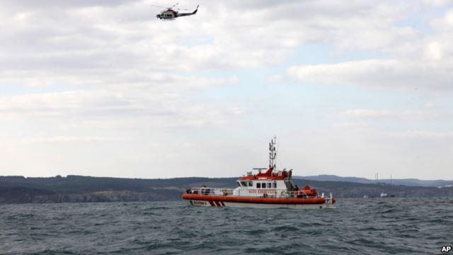 Біля берегів Туреччини затонуло судно
