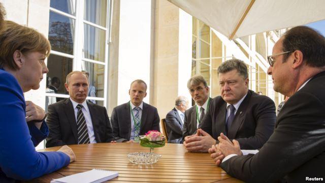 Паризькі домовленості не означають завершення війни – Порошенко